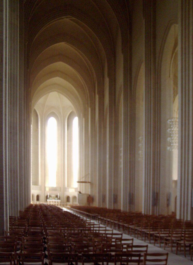 Architecture in Copenhagen NV bike tour Grundtvig's Church