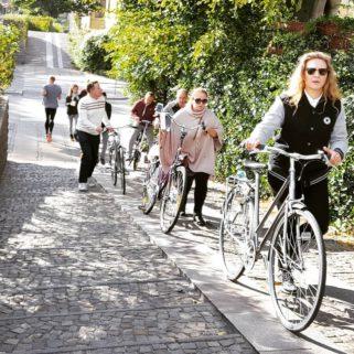 Diversity of Copenhagen bike tour