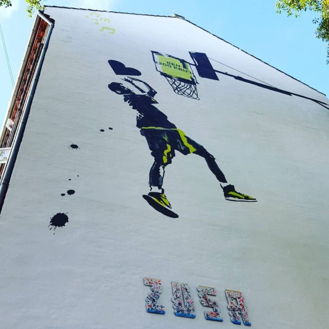 dunking trash with love seneste vgmaleri p nrrebro wallpainting renbyhellip