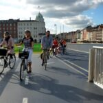 copenhagen neighbourhoods bike tour Inner harbour bridge