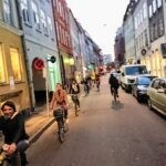 About beCopenhagen bike tour narrow streets