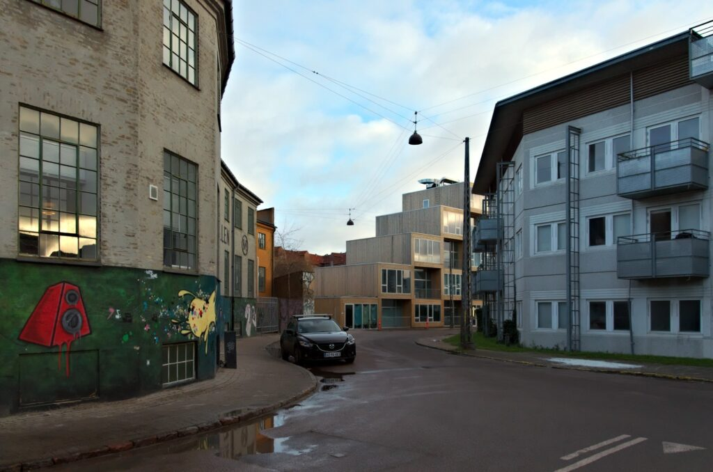 BIG housing at Dortheavej Architecture in Copenhagen NV
