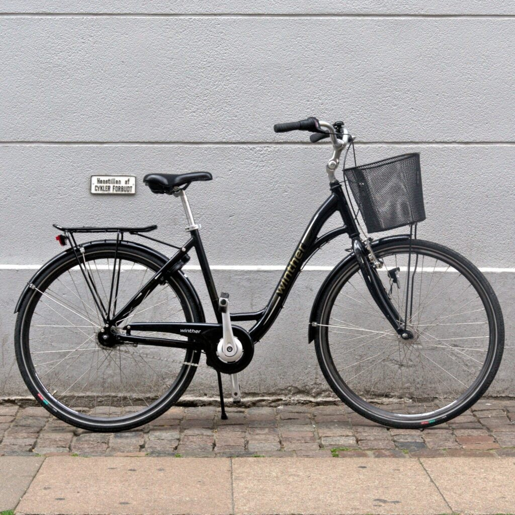 beCopenhagen rent a bike ladie's bike