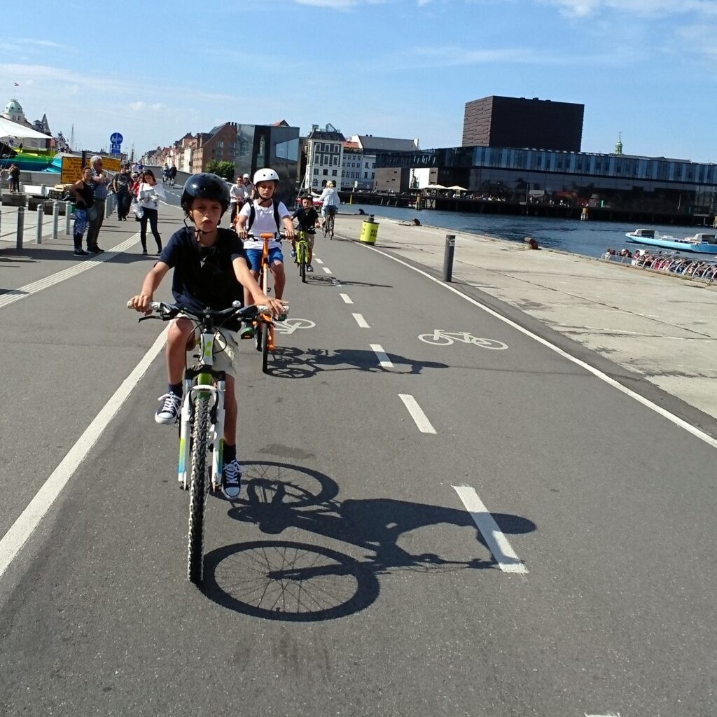 Bring your kids on a Copenhagen bike tour