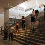 Four Day Tour of Danish Architecture MOMU Henning Larsen stairs