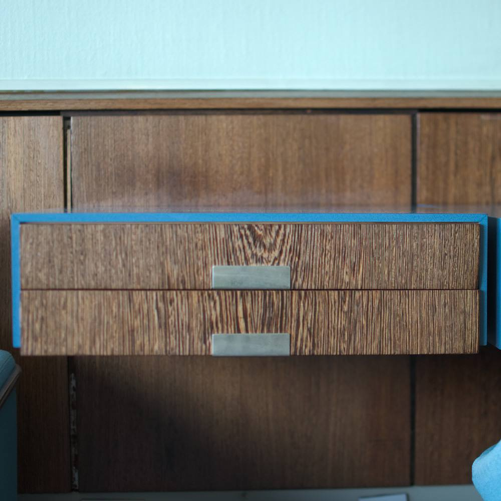 Multi-day tour of Danish Architecture - Hotel Royal by Arne Jacobsen - interior suite 606