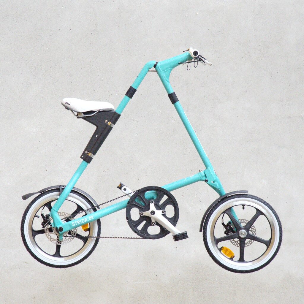Rent a STRiDA folding bike in Copenhagen