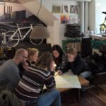 Neighbourhoods of Copenhagen bike tour downtown lounge