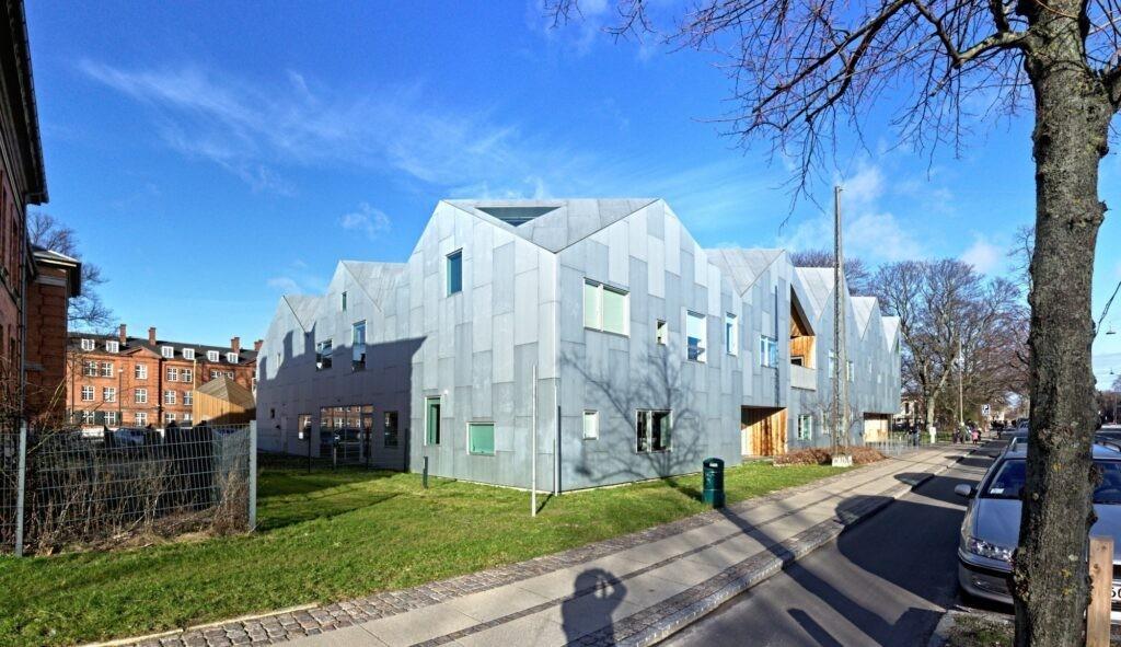 beCopenhagen Architecture bike tour Nordvest NV Nord Center for Cancer