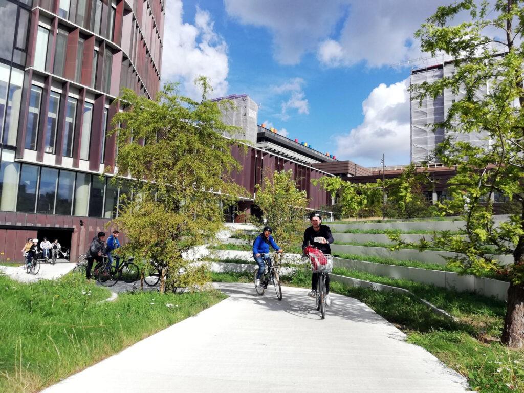 beCopenhagen Group Bike Tour Mærsk Tower