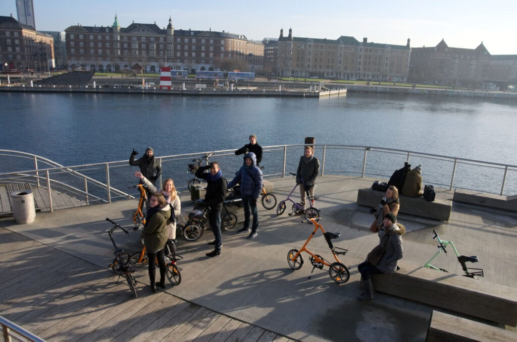 beCopenhagen Group Bike Tour at The Wave