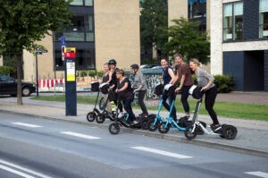 beCopenhagen bike or me-mober transit